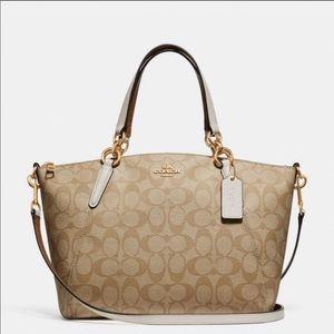 COACH signature canvas satchel/crossbody